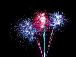 Reacciones químicas simples en Fireworks