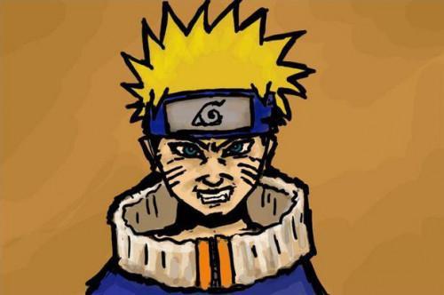 Cómo dibujar un Naruto enojado