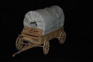 Cómo hacer un carromato de madera de 6 pulgadas