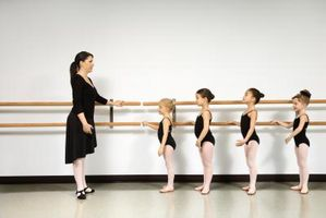 Cómo hacer un círculo de Ballet con el pie