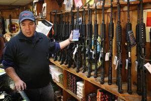 Almacenamiento correcto de la pistola