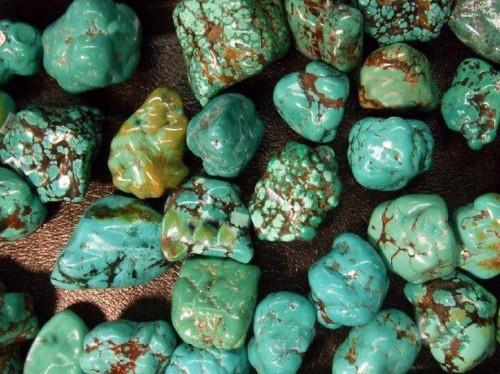 Tipos de verde turquesa