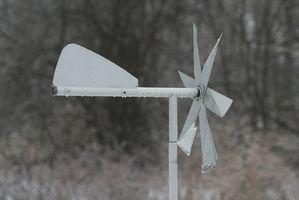 Cómo hacer un instrumento para medir la velocidad del viento