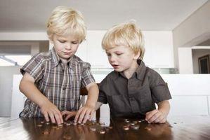 Dinero en juegos y actividades para niños