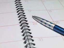 Cómo calcular los días entre dos fechas en una calculadora