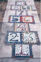 Cómo diseño una Hopscotch azulejo patrón