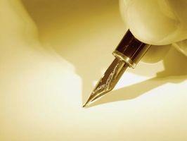 Herramientas y técnicas de lápiz y tinta