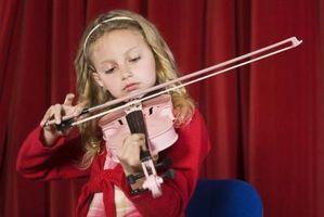 Cómo preparar a niños para un Recital de violín