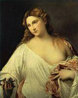 Técnicas de pintura de Tiziano