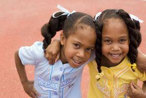 Cómo coordinar las niñas gemelas ropa
