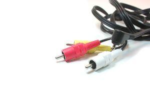 Cómo conectar el adaptador de componente de Wii Video a través de un receptor