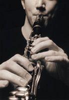 Cómo la gota de la echada en un clarinete