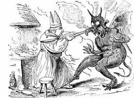 Cómo dibujar un Chibi demonio