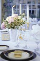 Ideas de centro de mesa de boda en San Diego