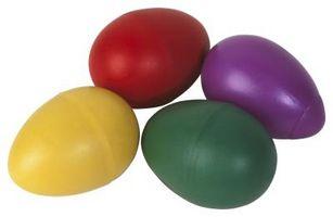 Huevos de Pascua plásticos y Ideas para niños pequeños