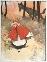 Little Red Riding Hood actividades y manualidades para preescolares