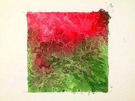 Consejos para la pintura con papel de seda