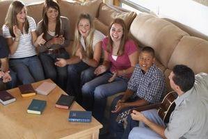 Juegos para una reunión temática de grupo de jóvenes