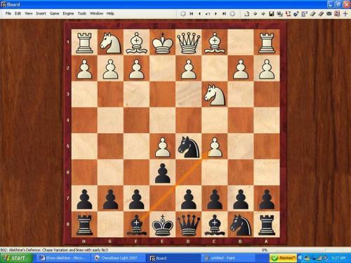 Cómo jugar defensa de Alekhine en ajedrez