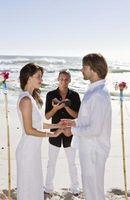 Lista de verificación para prepararse para una boda próxima