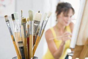 Cómo hacer más texturas en las montañas de la pintura