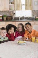 10 consejos para bocadillos saludables niños