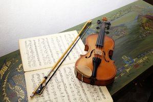 Cómo hacer un arco de violín de PVC