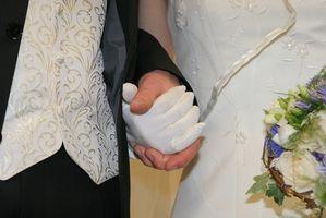 Etiqueta para una boda en la noche del viernes