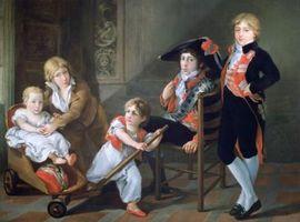 Familias americanas del siglo 18