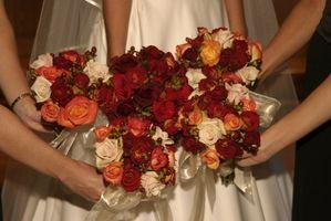 Combo tricolor Ideas para una boda de otoño