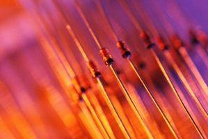 Cómo utilizar diodos para caída de voltaje