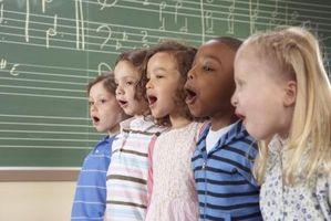 Juegos que tratan de música para niños en las edades de 6-12