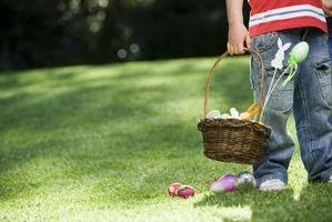 Canastas de conejo de Pascua para hacer