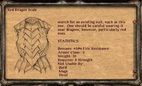 Cómo forjar el correo de placa dragón rojo en la puerta de Baldur 2