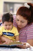 Los padres y comunicación con los niños usando gestos