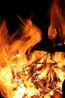 Cómo pintar las llamas de fuego Real &