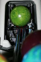 Tipos de bolas de Bowling Lane diferentes condiciones