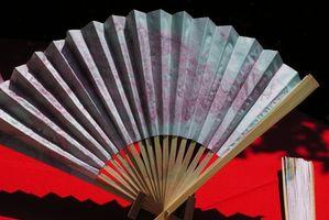 La historia de la danza del ventilador japonés