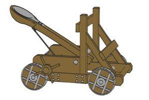 ¿Cómo funciona una catapulta?