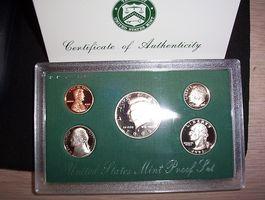 ¿Qué monedas prueba brillante?