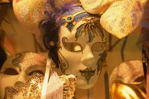 Ideas de pintura de máscaras venecianas