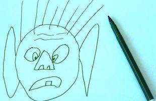Cómo dibujar rostros humanos y ojos