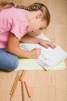 Dibujo y técnicas de sombreado para los niños