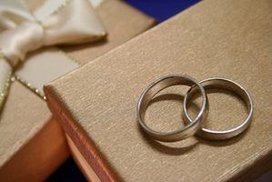 Cajas de regalo monetario casera para una boda