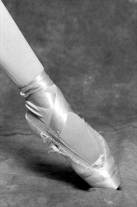 ¿Cuál es la estructura de una zapatilla de Ballet?