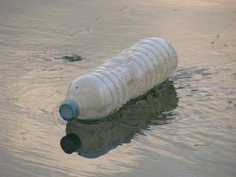 Tres categorías de contaminantes de agua