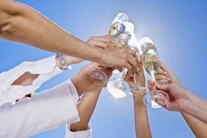 Cómo calcular el Alcohol para una boda