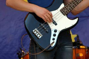 Cómo jugar guitarra eléctrica Power Chords