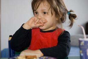 Alimentos saludables para las comidas de los cabritos