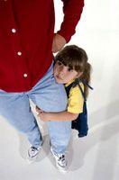 Superar la timidez en la guardería para los niños